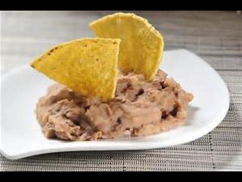 Frijoles Refritos Para Tacos De Canasta