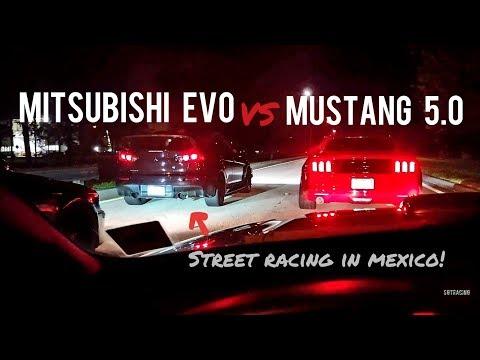 Mitsubishi Evo vs