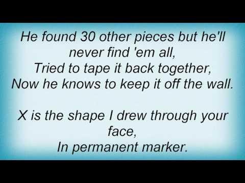 Taylor Swift - Permanent Marker Lyrics