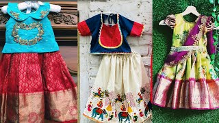 2020 Traditional Girl Baby Ethnic Wear Collections / Classic Trendy Kids  Ethnic Wear ideas