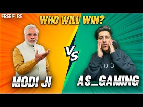 A_s Gaming Vs Modi Ji 1 Vs 1 Best Clash Squad Modi Ji Challenge Me For 1 Vs 1🔥 - Garena Free Fire