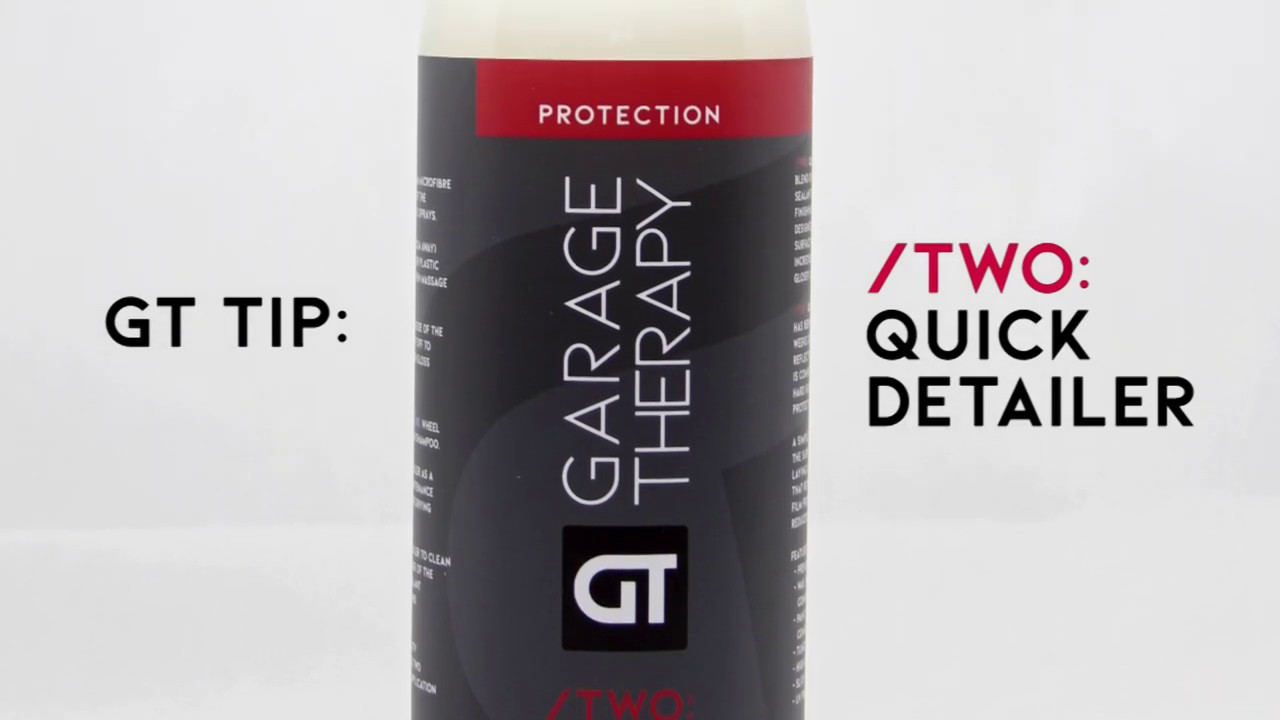 GT TIP: Quick Detailer on Glass