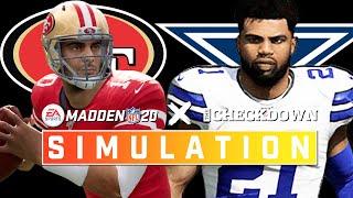 Dallas Cowboys vs. San Francisco 49ers Week 15 Full Game | Madden 2020 Season Simulation