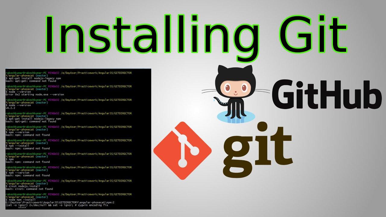 How to download install git github desktop git beginner how to download install git github desktop git beginner tutorial first commit youtube baditri Gallery