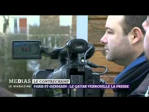 Le contrechamp   Paris St Germain  Le Qatar verrouille la presse
