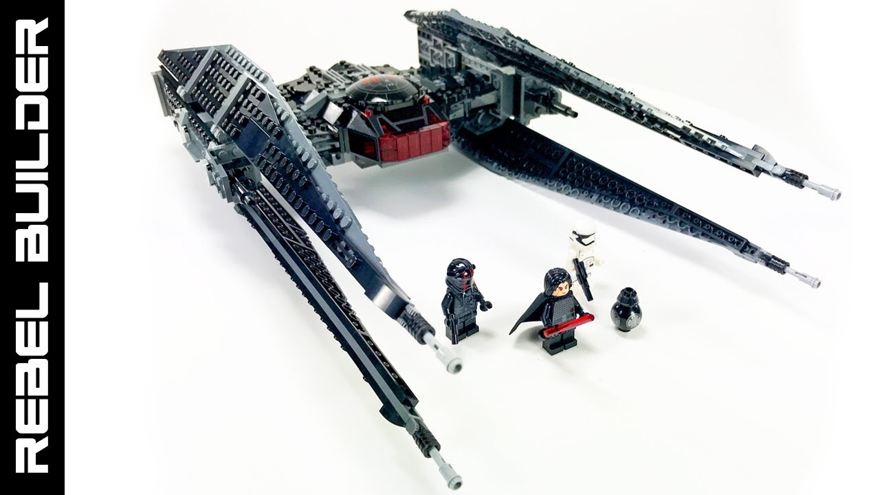 Display Stand for LEGO® Star Wars™ Kylo Ren's TIE Fighter ...