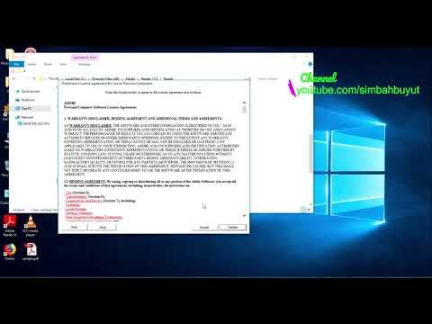 Mengatasi Error Adobe Reader Raise Without Handler