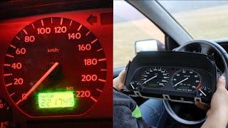 Zmiana koloru podświetlania licznika - wymiana żarówek ( VW golf 3 )