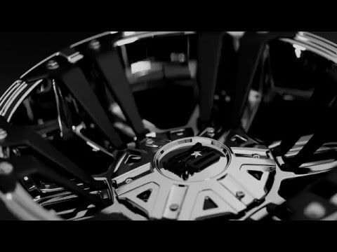 KMC XD822 Series Monster II Chrome Finish Wheels 2 American Racing