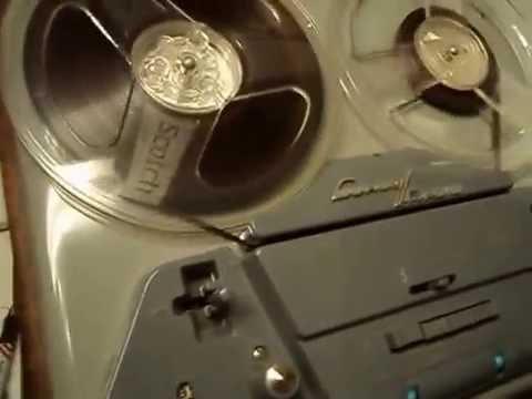 Luxor/Radio Corp, Sweden, Tube Reel To Reel Tape Deck - Model M70