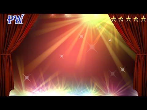 Занавес театральный FHD\\4K красивый светомузыка