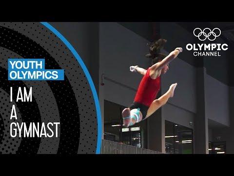 I am a Gymnast ft. Pirjo Wolfisberg - Youth Olympic Games