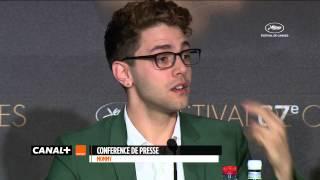 Cannes 2014 - MOMMY : Conférence de presse