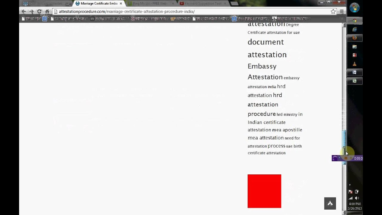 Marriage certificate embassy attestation procedure india youtube marriage certificate embassy attestation procedure india xflitez Image collections