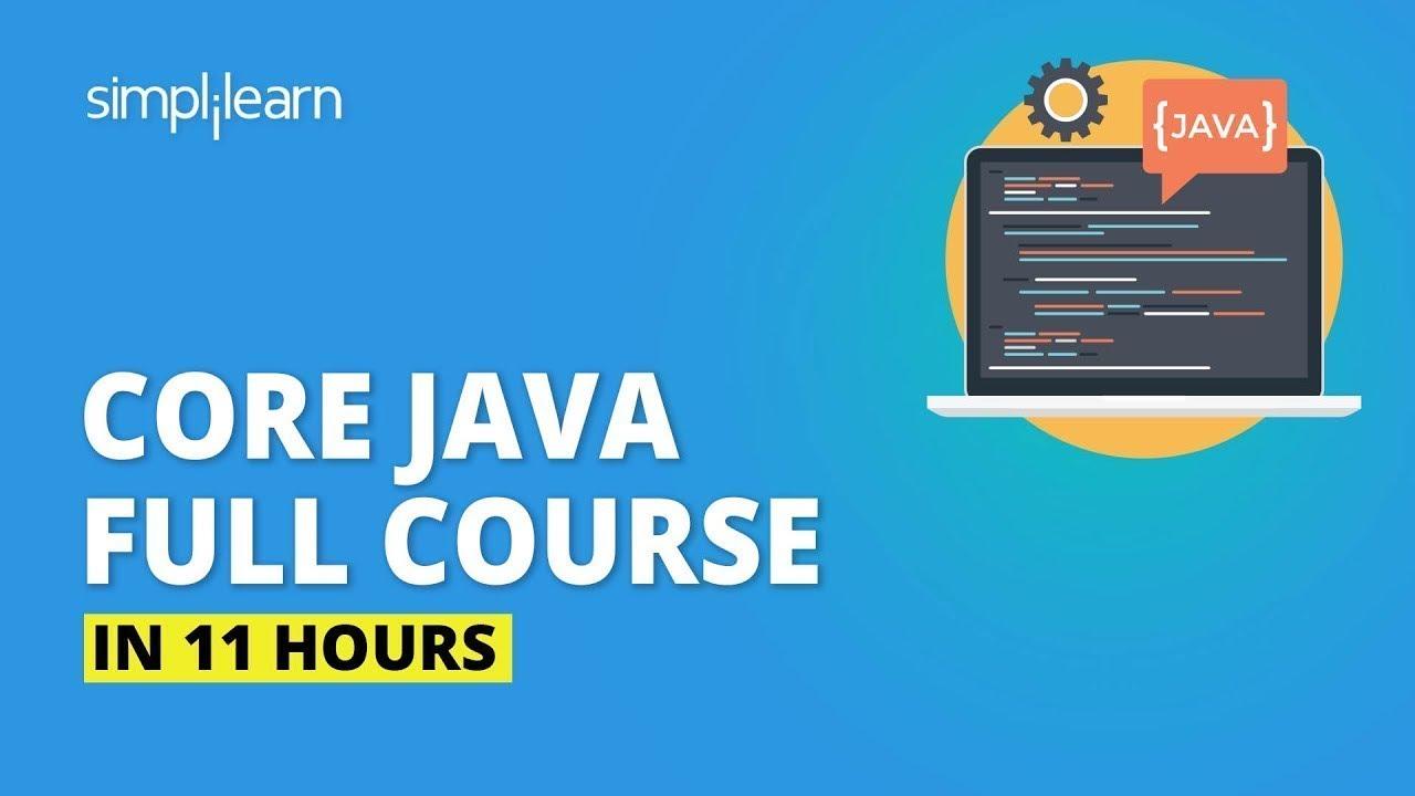 Download Java Tutorial For Beginners [2021] | Java Full Course In 11 Hours | Java Programming | Simplilearn