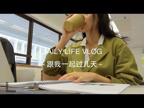 [Susie] VLOG 41 | 研究生的日常 | 复习,开放三明治,西柚气泡水,手帐,逛街