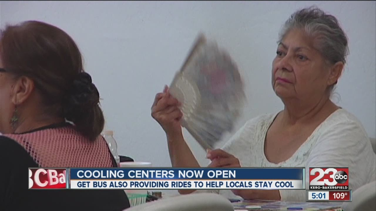 Cooling Centers Now Open Due To Record-breaking Heat