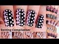 10 Easy Dotting Tool Nail Designs: Compilation! – by Moonlight Nail Art