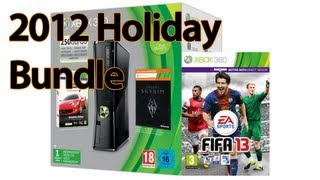 Xbox 360 Holiday Bundle 2012 Unboxing