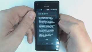Sony Xperia M C1905 factory reset