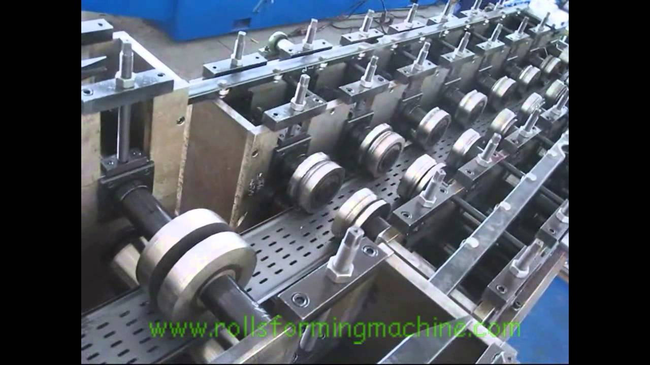 Cable Tray Roll Forming Machine New Youtube