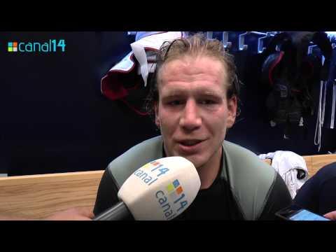 Filip Novák po zápase s Petrohradom