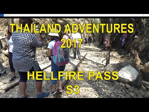 HELLFIRE PASS KANCHANABURI THAILAND 2017