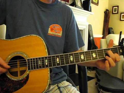 how to play songbird eva cassidy on guitar