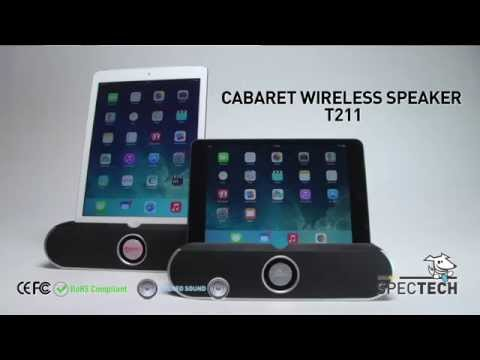 Wireless desktop speaker CABARET