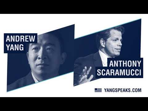 Anthony Scaramucci asks Andrew Yang why he's a Democrat