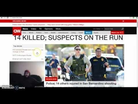 San Bernardino SHOOTING Update & Message for Casey