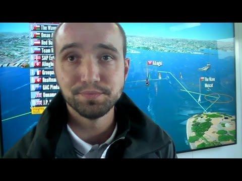 SAP Milan Cerny Dec 13 14 Extreme Sailing Series Sydney Explains their Sailing Software