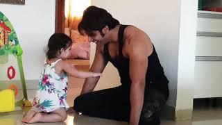 Bella & Vienna's playtime with Dad :)