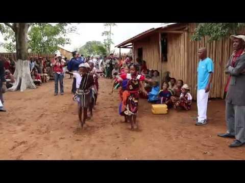 Children's Dance Performance at WFP School in Madagascar