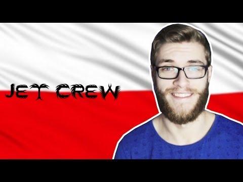 "FUNNY MOMENTS - JET CREW (""Aussie Guy Tries To Speak Polish"")"