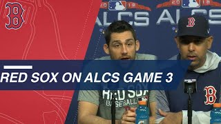 ALCS Gm3: Red Sox on Game 3 of the ALCS