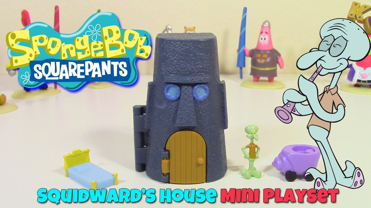 Spongebob patrick and squidward house