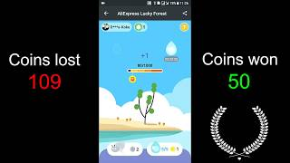 Aliexpress Tree Game - Is it Waste of Time? From Level 0 to Fully Grown Tree in 3 min