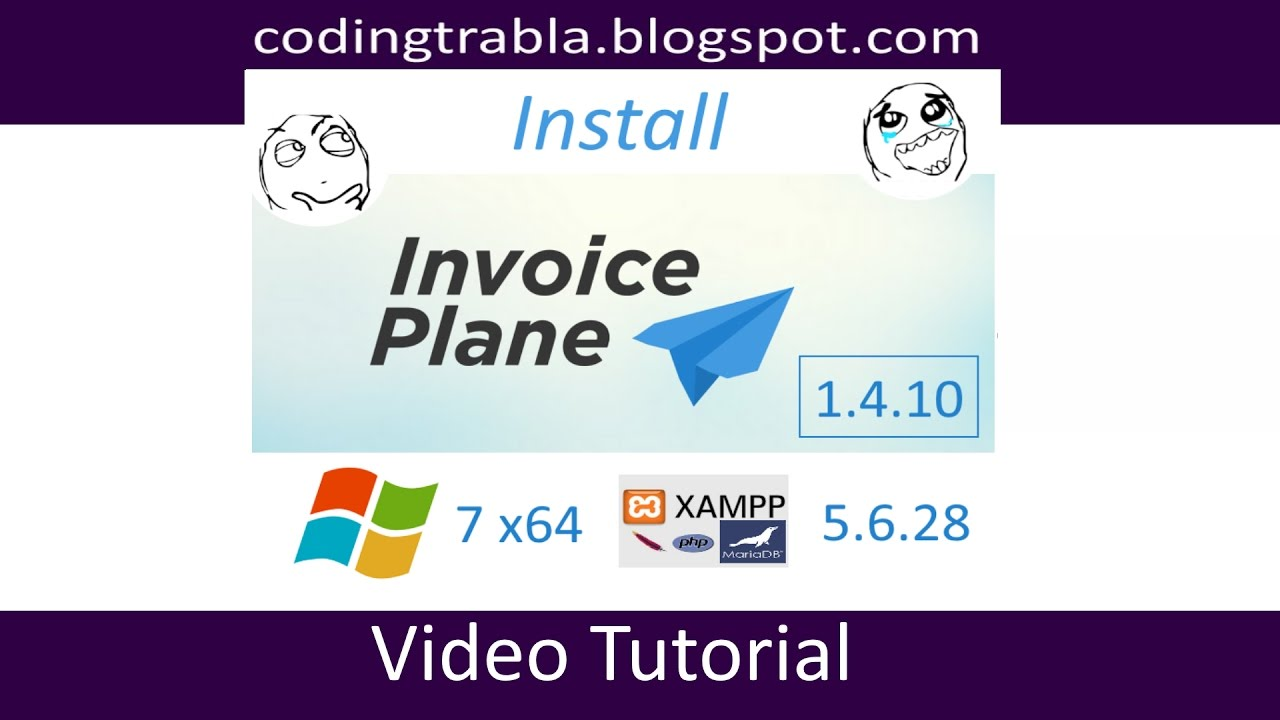 Install InvoicePlane V On Windows Localhost XAMPP - Invoice software for windows 7