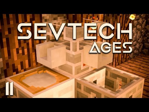 SevTech Ages EP11 Iron Bucket + Slime Sling