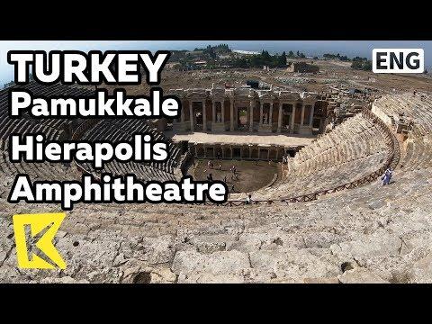 【K】Turkey Travel-Pamukkale[터키 여행-파묵칼레]히에라폴리스 원형극장/Hierapolis/Amphitheatre/Ancient city