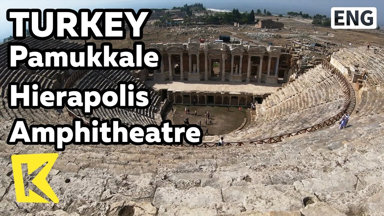 【K】Turkey Travel-P****ukkale[터키 여행-파묵칼레]히에라폴리스 원형극장/Hierapolis/Amphitheatre/Ancient city