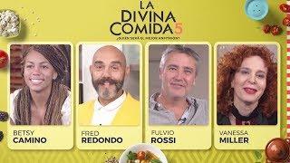 La Divina Comida - Betsy Camino, Fulvio Rossi, Vanessa Miller y Fred Redondo