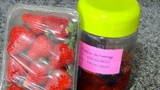 Geléia de morango caseira- Faça você mesma