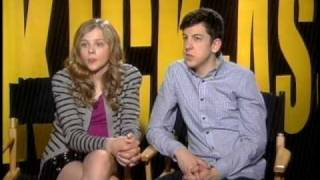KickAss Christopher Mintz Plasse Chloe Moretz Interview 1 thumbnail