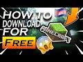 របៀប Minecraft For *Free* On PC