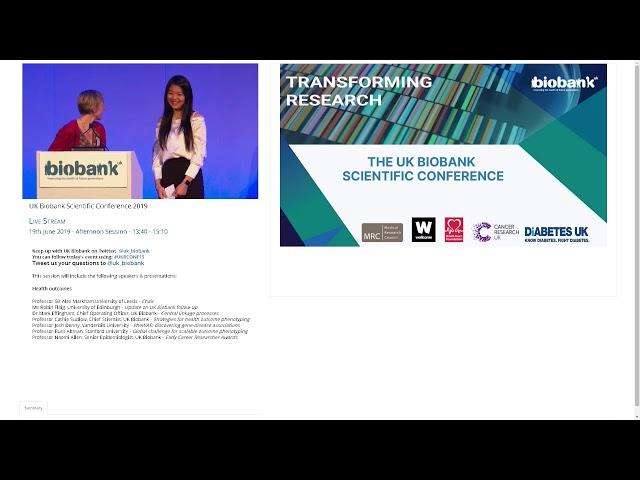 2019 UK Biobank Early Early Career Award winners