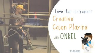 Creative Cajon Playing with Markus Onkel Lingner