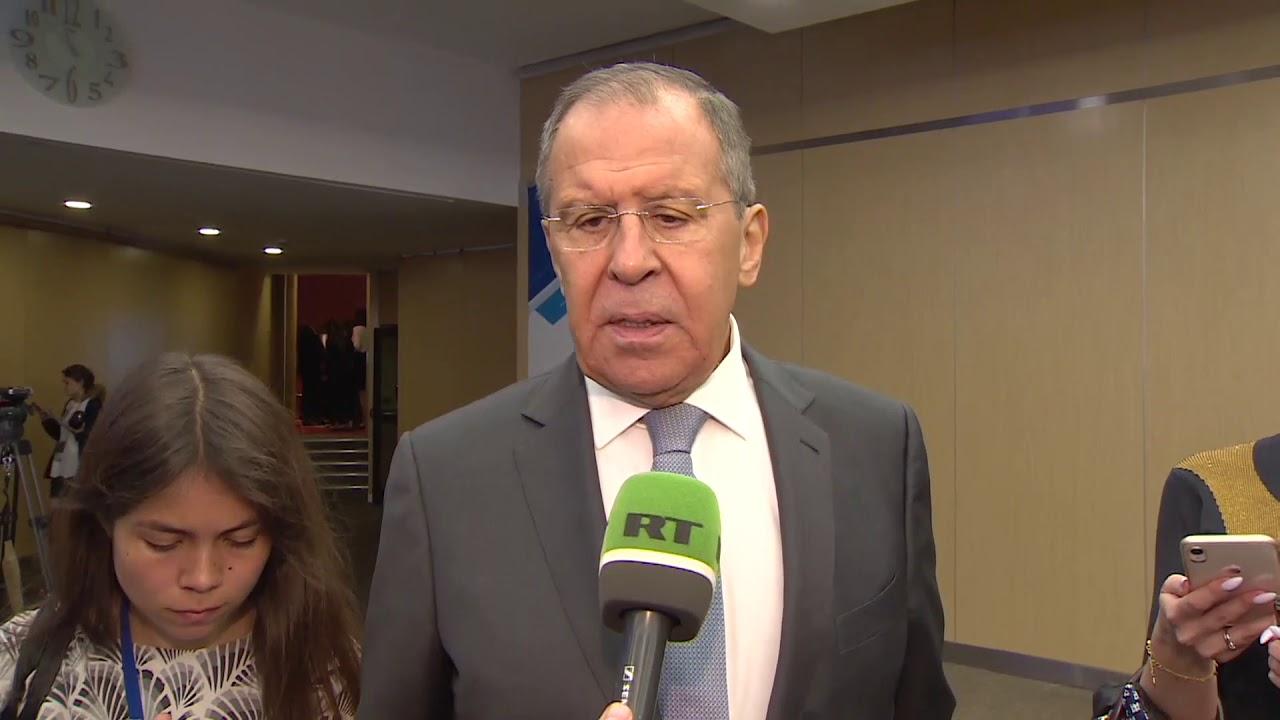 Ответ С.Лаврова на вопрос СМИ, Москва, 1 июля 2019 года