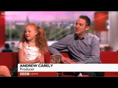 Harley Bird, Peppa Pig  On BBC Breakfast